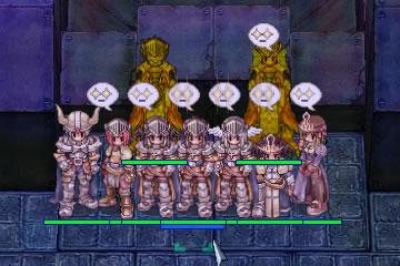 パラ4名、クルセ3名、剣士1名、プリ1名で/e13